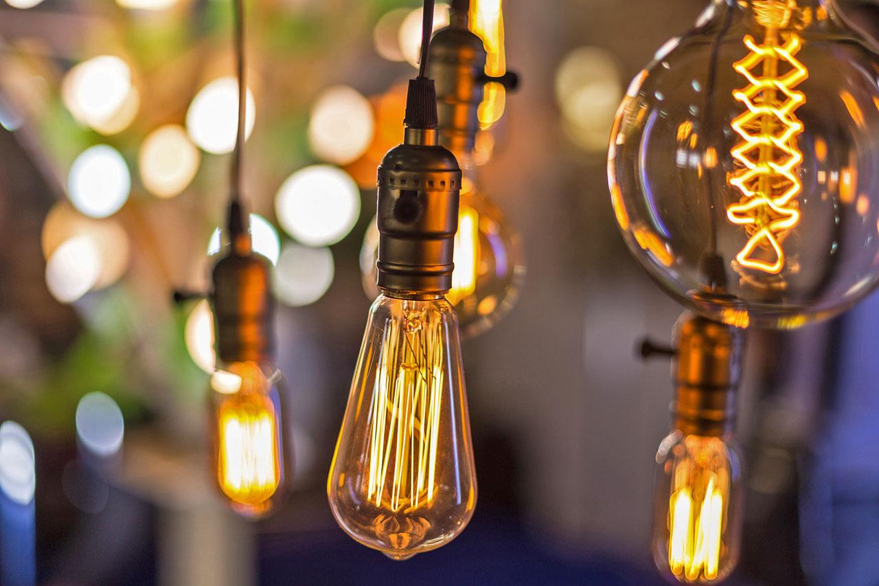 Électricité - ampoules led à économies d'énergie