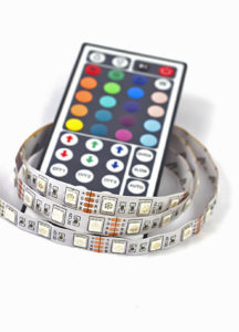 Ruban d'ampoules LED - économies d'énergie
