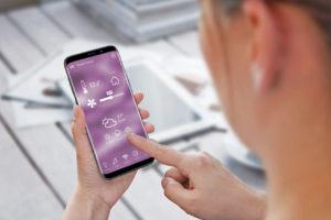 Programmation chauffage sur smartphone