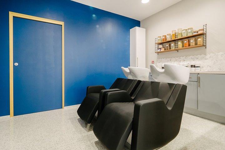 Salon de coiffure - éclairage LED intensité variable