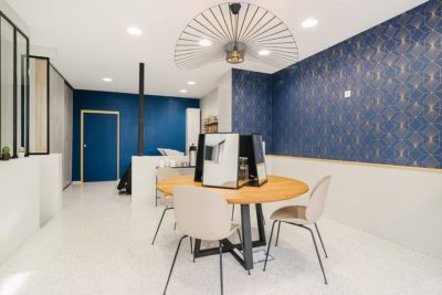 Salon de coiffure - éclairage LED plafonnier